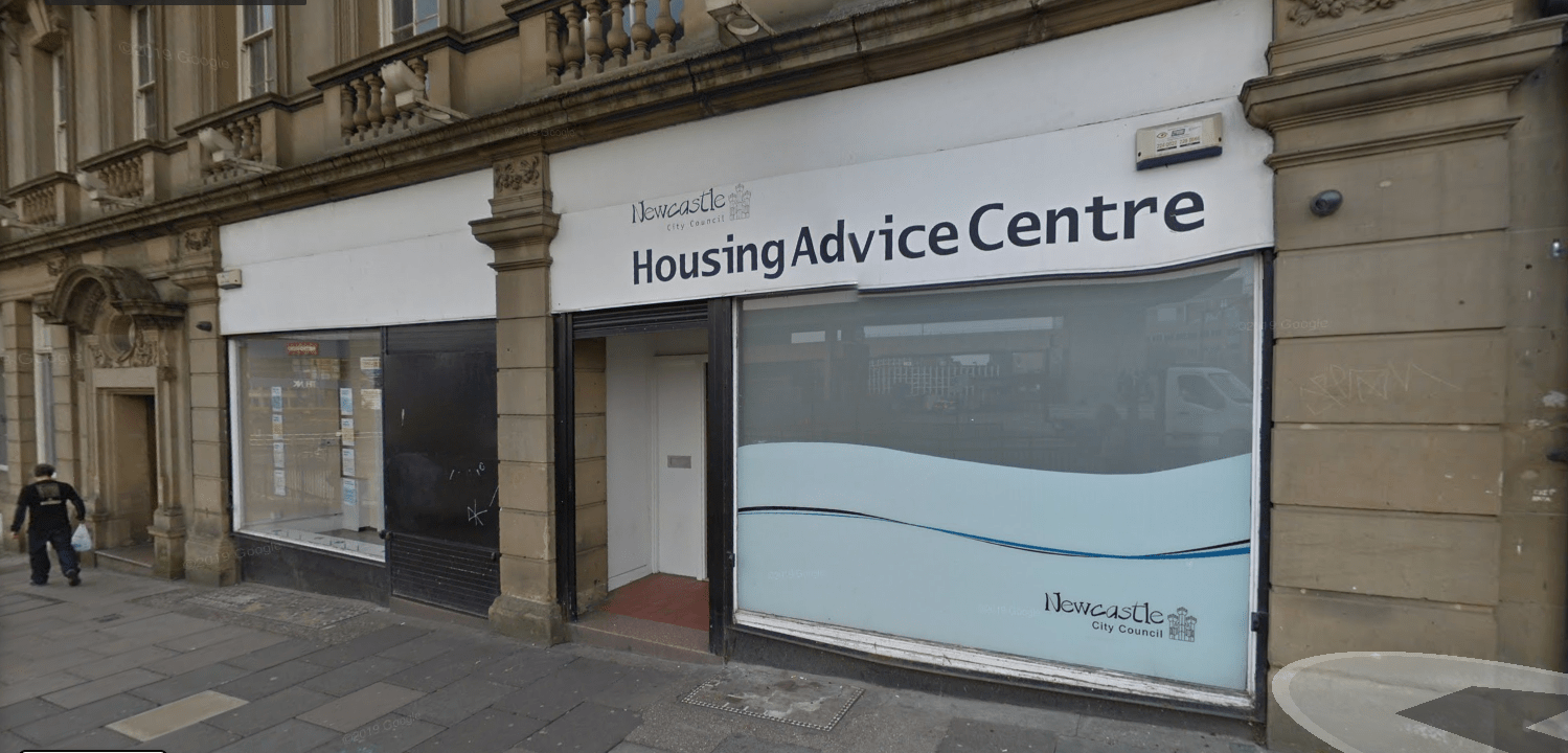 Housing Advice Centre, 112 Pilgrim Street, Newcastle